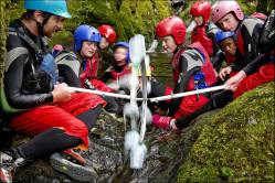 Children doing sustainable activities
