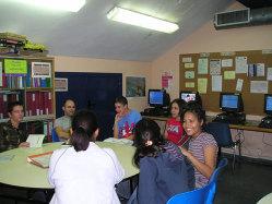 Social volunteering San Fermin hostel