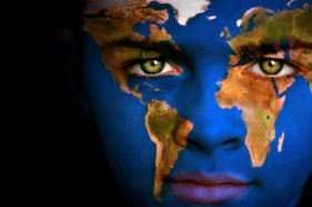 Sustainability world face