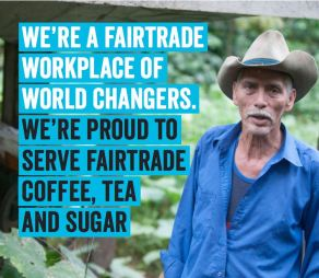 Workplace of worldchangers fairtrade