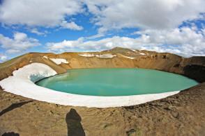 Krafla volcano iceland