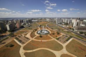 Brasilia city scene