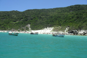 Arraial do Cobo beach scene, Brazil