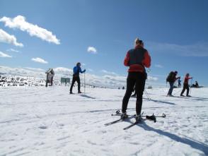 Skiing in Lillehammer