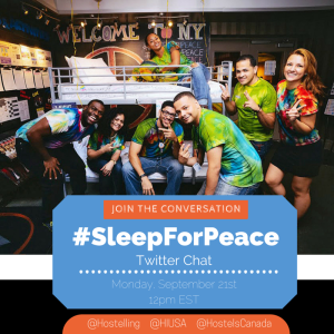 Twitter Sleep for Peace