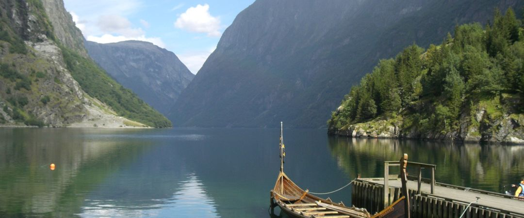 Visit the UNESCO World Heritage Site, Nærøyfjord in Sognefjord, one of the world's most beautiful and dramatic fjords.