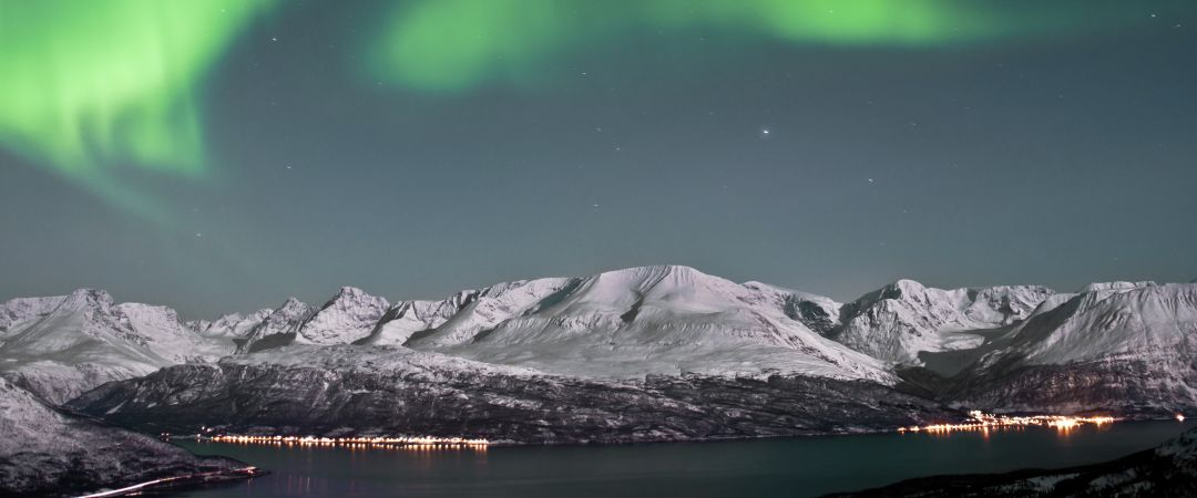 For the best chance to see the mystical northern lights or aurora borealis visit the Lofoten Islands in northern Norway.