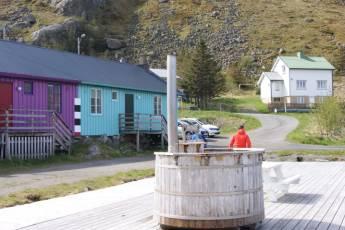 Ballstad : Badestamp ved rorbu