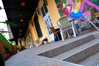 Budapest Budget Hostel : Terrace