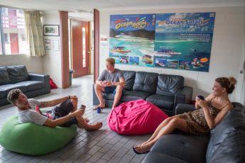 Airlie Beach YHA : TV room