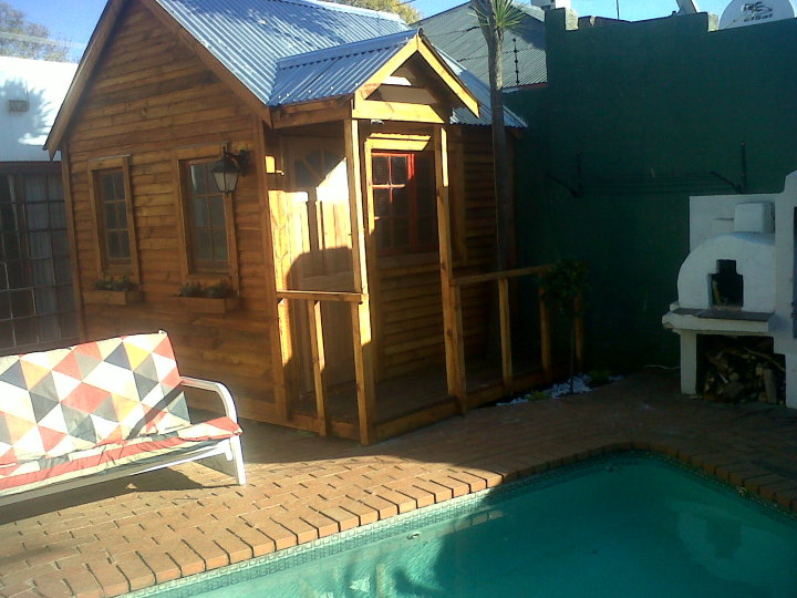 Pool Area in Melville International Backpackers Hostel, South Africa