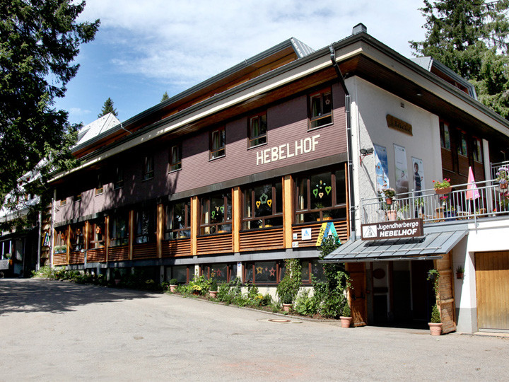 Feldberg Schwarzwald Exterior Of The Black Forest Hostel In Germany