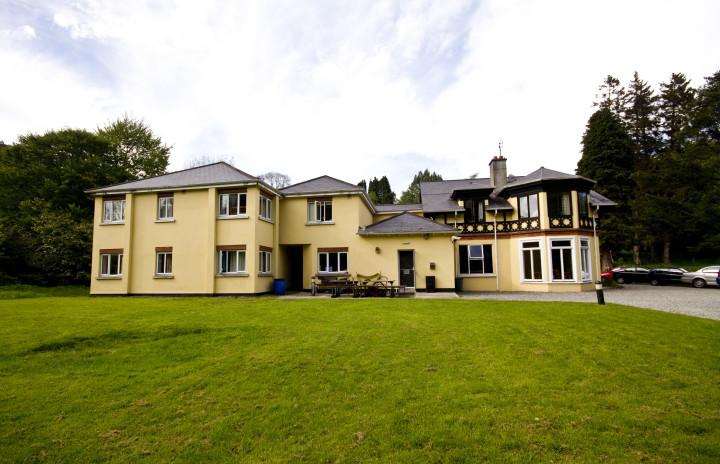 Map Of Youth Hostels In Ireland.Glendalough International Yha