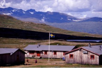Helags Mountain Station :