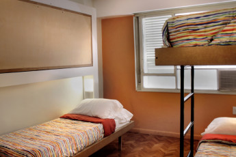 Buenos Aires - Hostel Suites Florida : Red dortoir dans une auberge Suites Florida