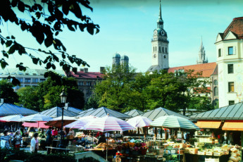 München - City : Market in Munich