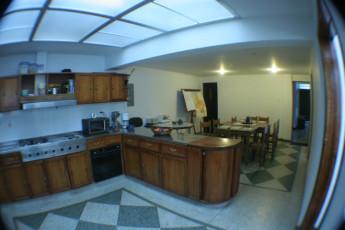 Bogota - La Pinta Hostel : La Pinta Hostel, Bogota kitchen