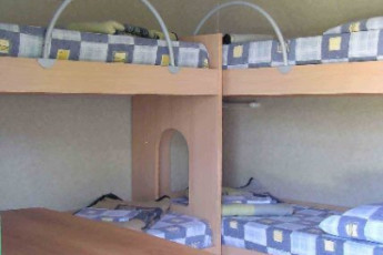 Pula : The Hostel Pula dorm with bunk beds
