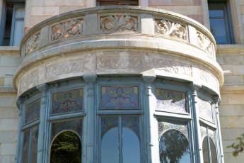 Barcelona - Mare de Deu de Montserrat : outside balcony at hostel Mare de Deu de Montserrat