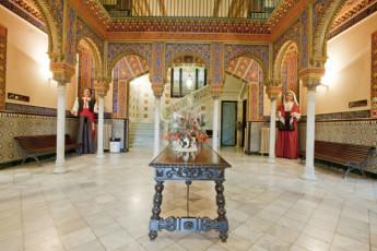 Barcelona - Mare de Deu de Montserrat : Hostel Mare de Deu de Montserrat ground floor