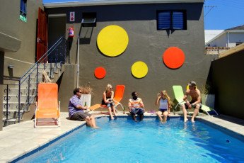 Cape Town - Ashanti Green Point : Outdoor pool at Cape Town Ashanti Green Point