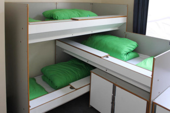 YHA London St Pauls : YHA St Pauls London dorm room single beds