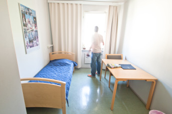 Helsinki - Eurohostel : Eurohostel Helsinki guest in a private single dorm room