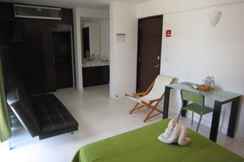 Hostel Mundo Joven Cancún : Hostel Mundo Joven Cancun double room bathroom