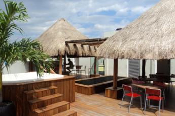 Hostel Mundo Joven Cancún : Hostel Mundo Joven Cancun jacuzzi