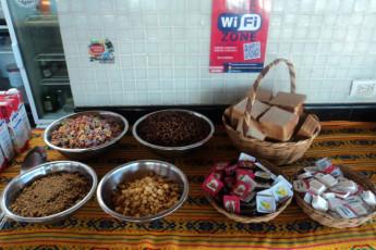 Hostel Mundo Joven Cancún : Hostel Mundo Joven Cancun breakfast