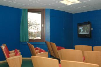 Brussels - Bruegel : Hostel television room