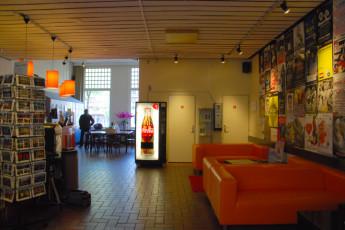 Stayokay Amsterdam Stadsdoelen : Stayokay Amsterdam Stadsdoelen reception