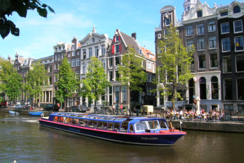Stayokay Amsterdam Stadsdoelen : Stayokay Amsterdam Stadsdoelen comedor
