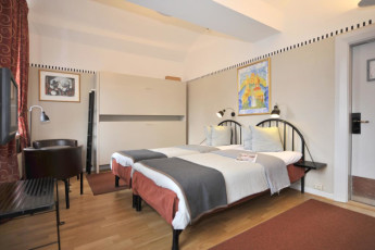 Stockholm - Langholmen : Stockholm - Langholmen private double room