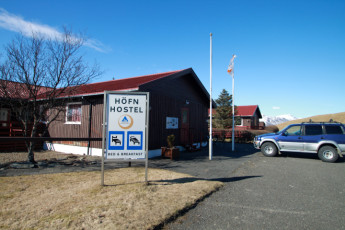 Höfn : Exterior of Hofn hostel