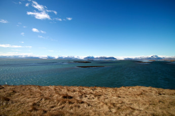 Höfn : Sea view in Hofn