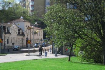 Göteborg - Stigbergsliden : Goteborg-Stigbergsliden hostal en terraza