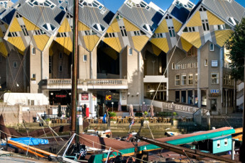 Stayokay Rotterdam : Stayokay Rotterdam view