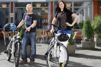 Bergen Montana : Bergen Montana Hostel cyclist