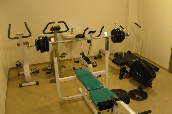 Bergen Montana : Bergen Montana Hostel gym
