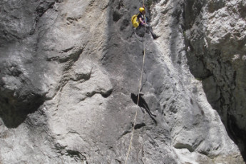 Auberge de jeunesse Hi La Palud-sur-Verdon : The Palud on Verdon rock climbing