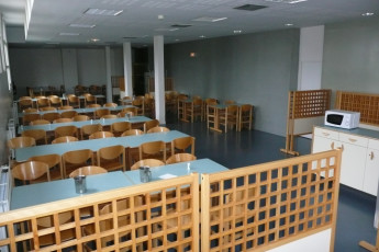 Auberge de jeunesse Hi Amiens : Hostel Amiens canteen