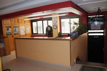Salamanca - Albergue Juvenil : Hostel Salamanca Albergue Juvenil front reception
