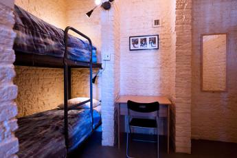 HI - Ottawa Jail : dentro de una residencia móvil habitación en el hostal