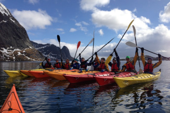 Lofoten Å : A kayaking