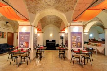 Cagliari - Hostel Marina : Hostel Marina cafe