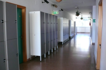 Genoa : Genoa Hostel lockers