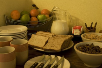 Montevideo - Unplugged Hostel : Montevideo - Unplugged Hostel food