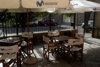Montevideo - Unplugged Hostel : Montevideo - Unplugged Hostel patio