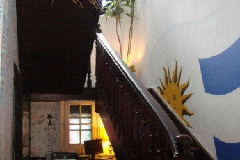 Montevideo - Unplugged Hostel : Montevideo - Unplugged Hostel staircase